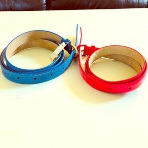 2 NWT J.Crew Belts